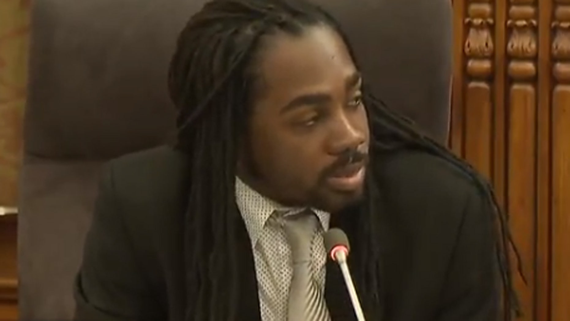Washington D.C. city council member Trayon White.