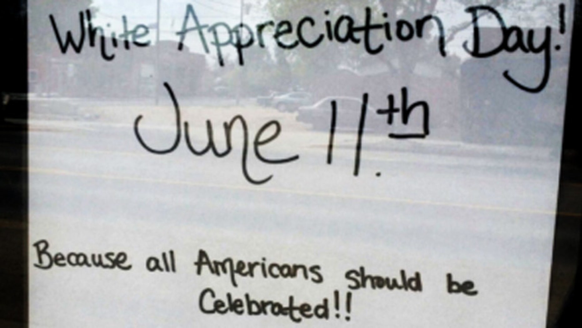 """The restaurant owner who plans to hold """"White Appreciation Day"""" now says a 10 percent discount will extend to all customers regardless of race if they ask for the discount."""