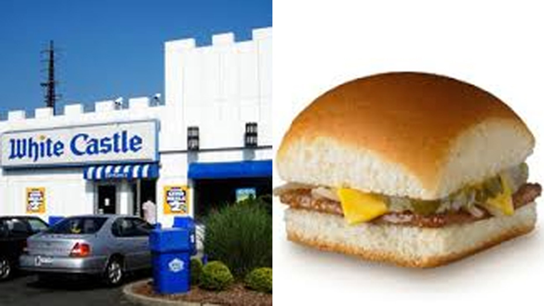 "Time magazine says White Castle's small, square ""sliders"" are ""the most influential burger of all time."""