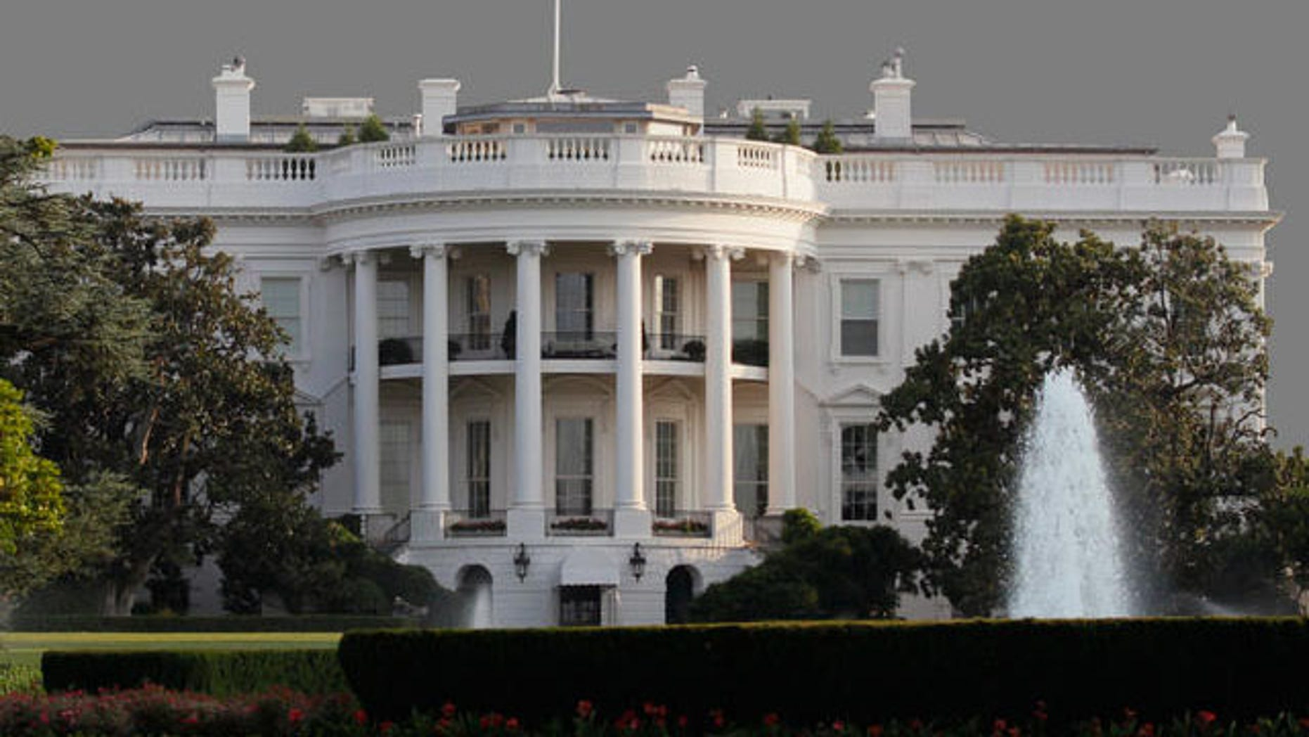 The White House is shown in this July 31, 2011 graphic.