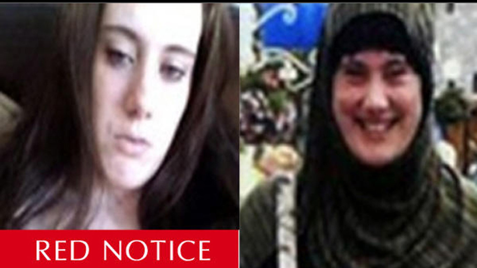 An INTERPOL bulletin has officials in nearly 200 nations on the lookout for Lewthwaite. (INTERPOL)