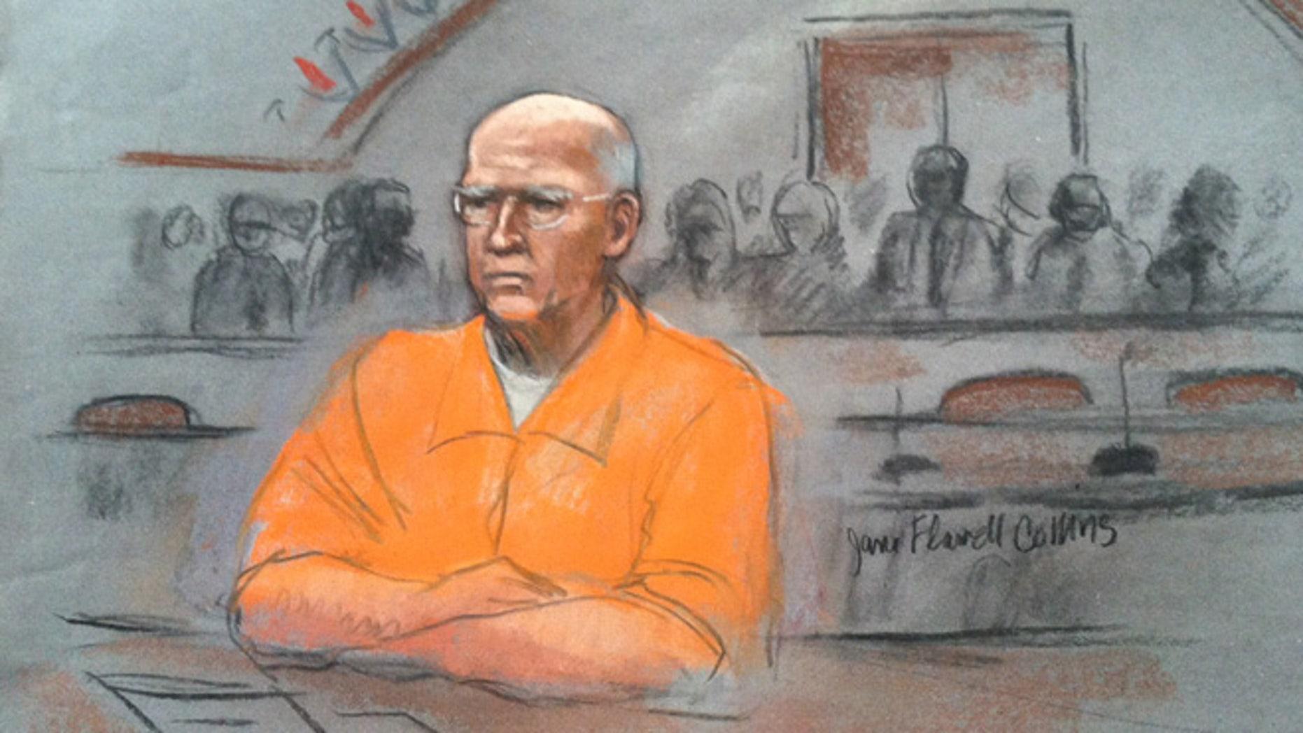 Nov. 13, 2013: James 'Whitey' Bulger appeared in court in Boston.
