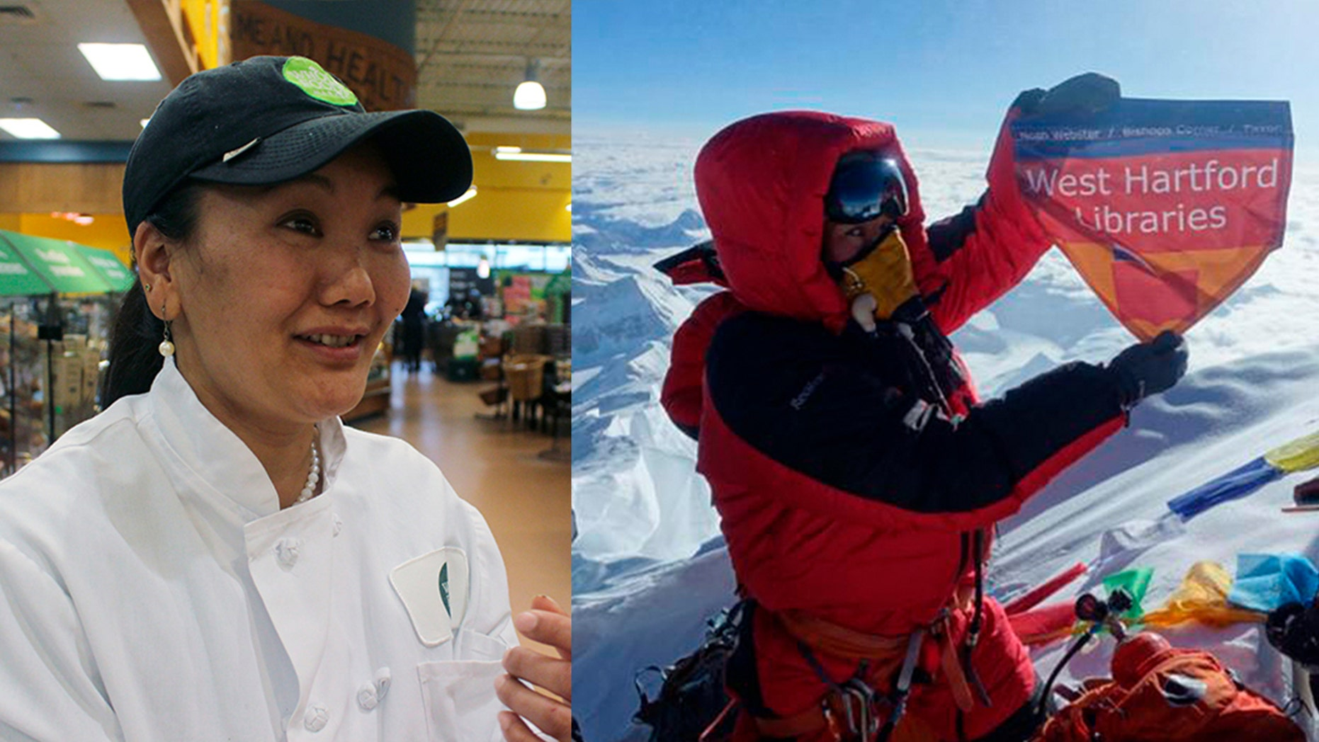 Everest record-holder Lhakpa Sherpa is a dishwasher at Whole Foods Everest record-holder Lhakpa Sherpa is a dishwasher at Whole Foods new photo