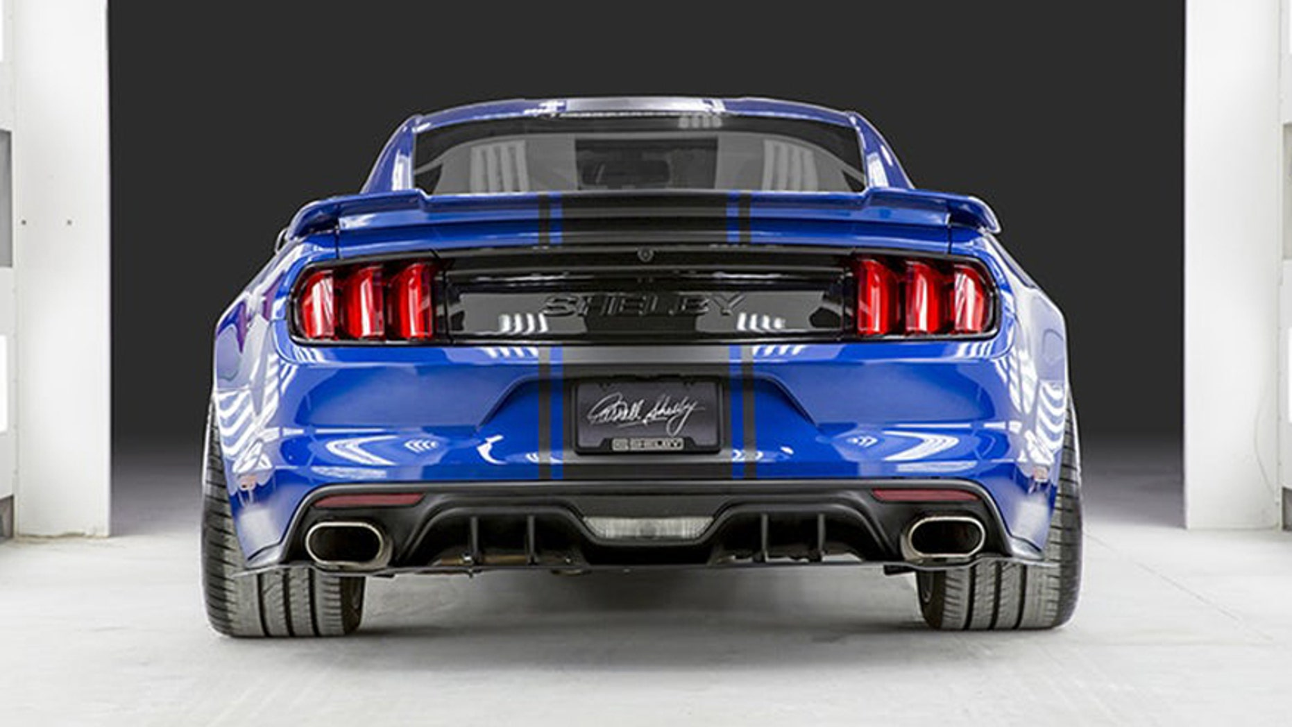 Shelby American uncoils wide body Mustang Super Snake and 750 hp F ...