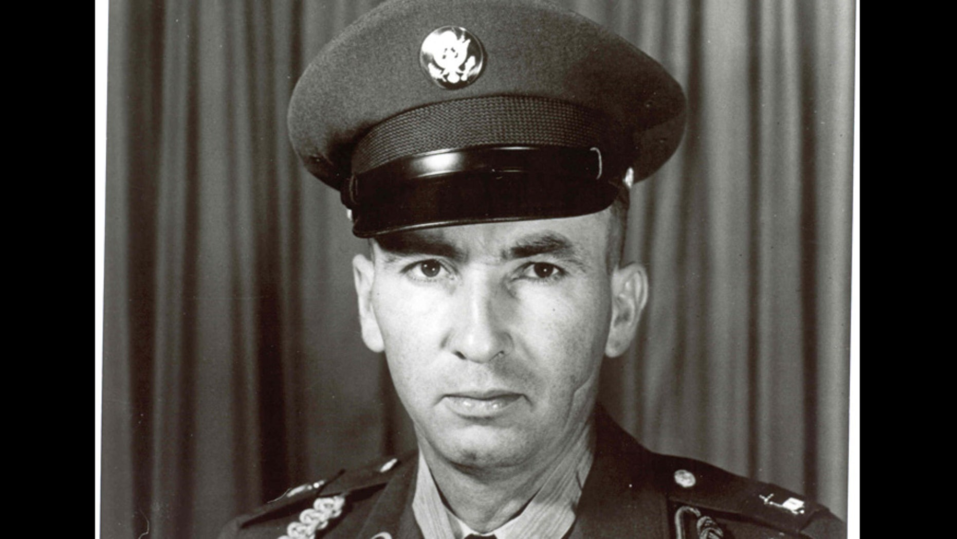 Wilburn Ross when he was awarded the Medal of Honor in 1945.