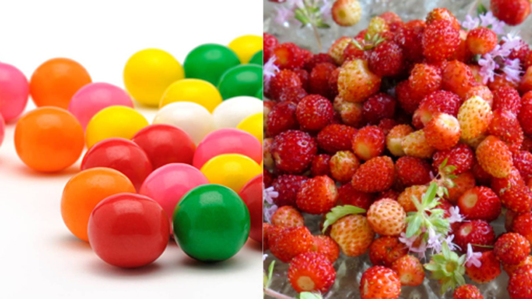 Bubblegum and berries together at last.