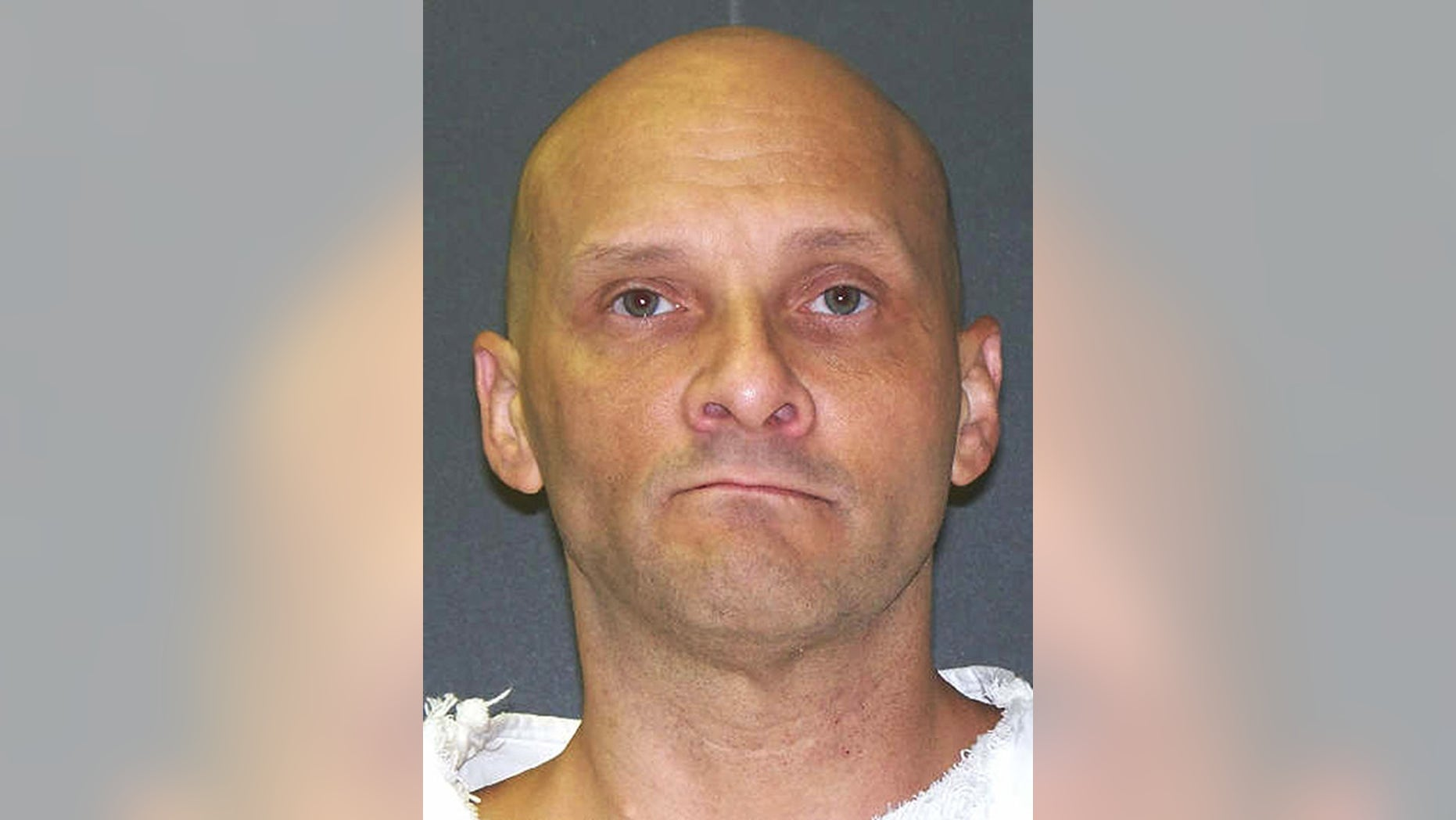 This undated photo provided by the Texas Department of Criminal Justice shows death row inmate Christopher Wilkins.