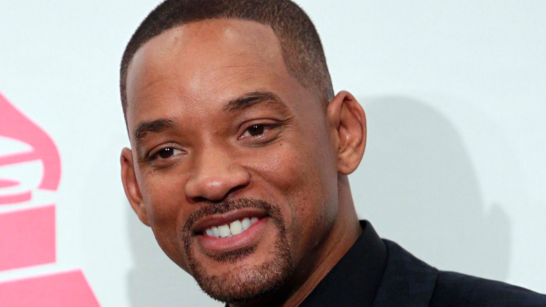 November 19, 2015.  Will Smith poses backstage at the 2015 Latin Grammy Awards in Las Vegas, Nevada.