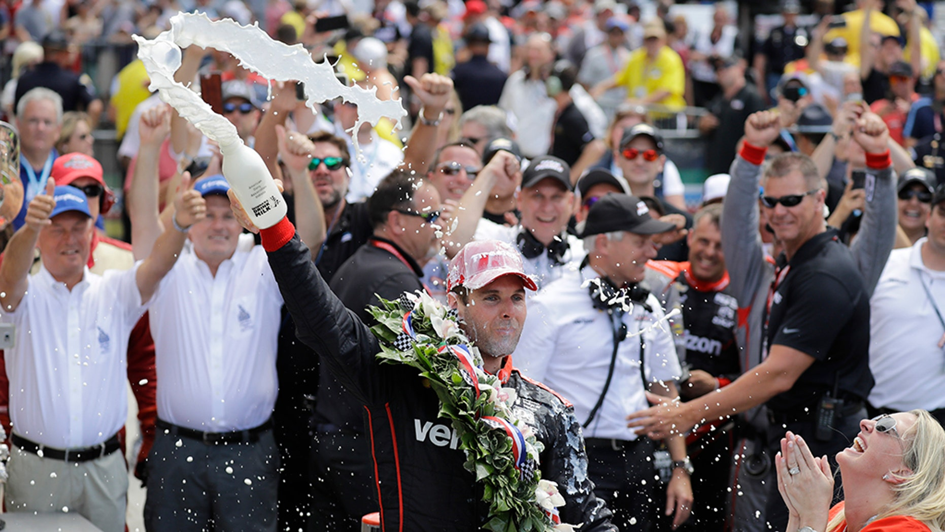 Australian driver Will Power won Sunday's Indianapolis 500.