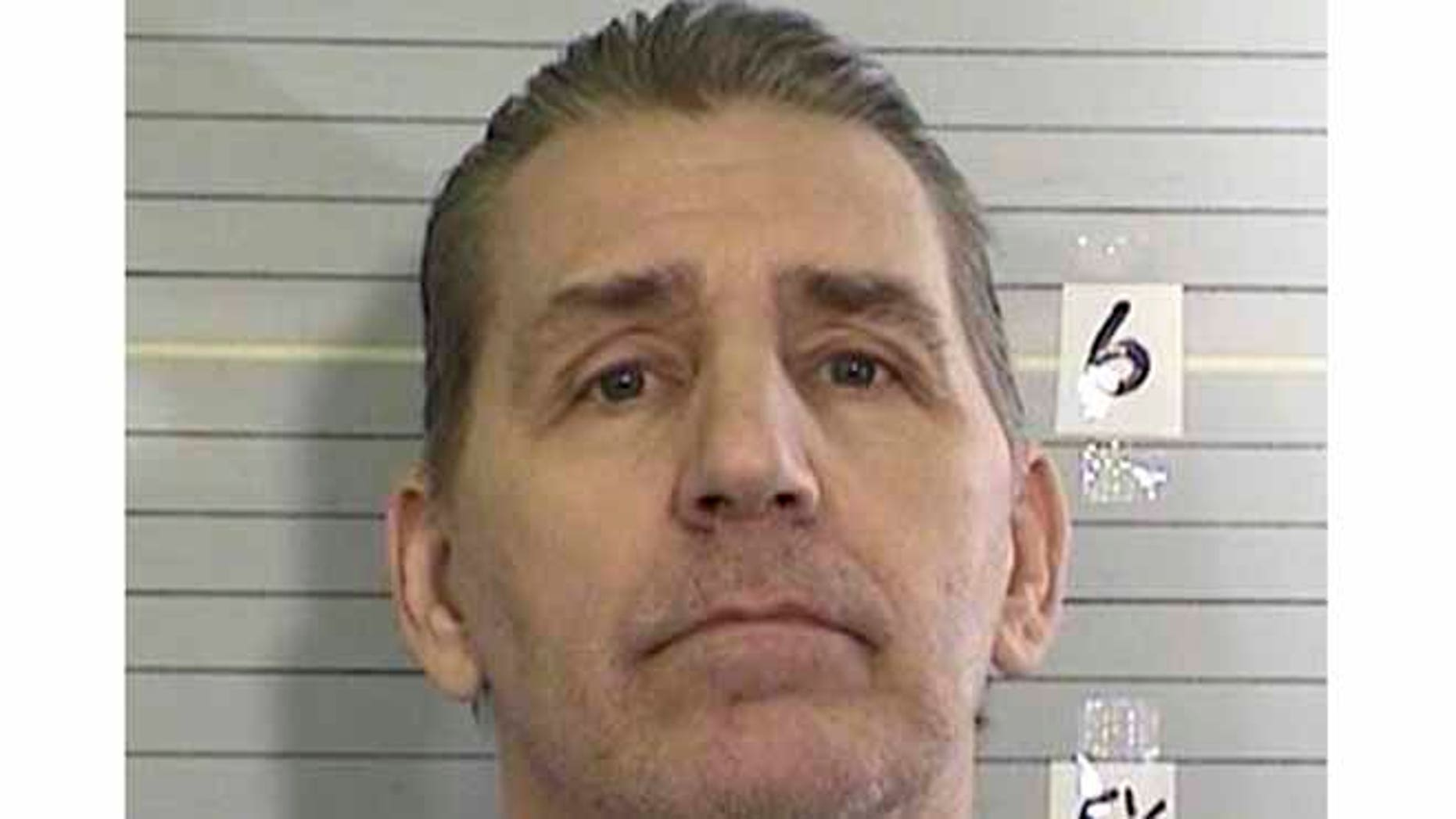 Photo of William Richards in prison. (California Department of Corrections and Rehabilitation via AP)