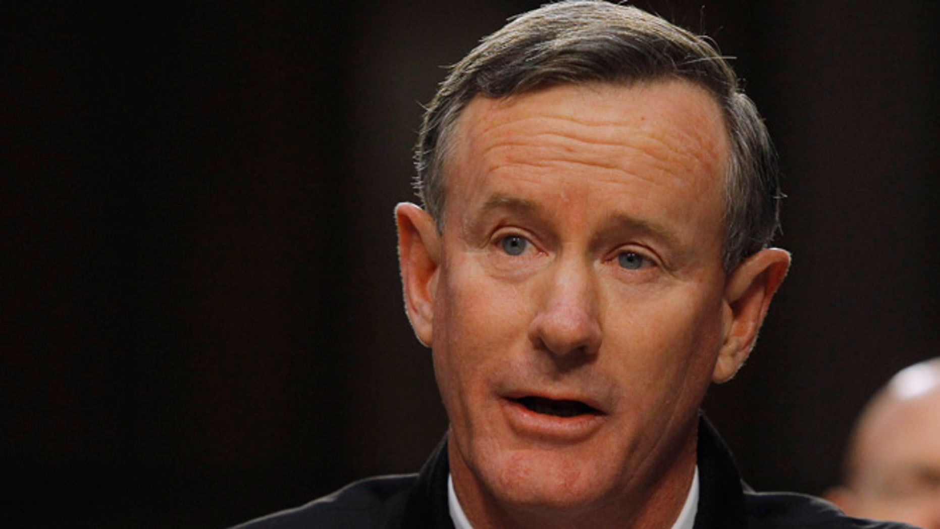 March 5, 2013: U.S. Navy Admiral William McRaven testifies before the Senate Armed Services Committee in Washington, with regard to the Defense Authorization Request for fiscal year 2014.