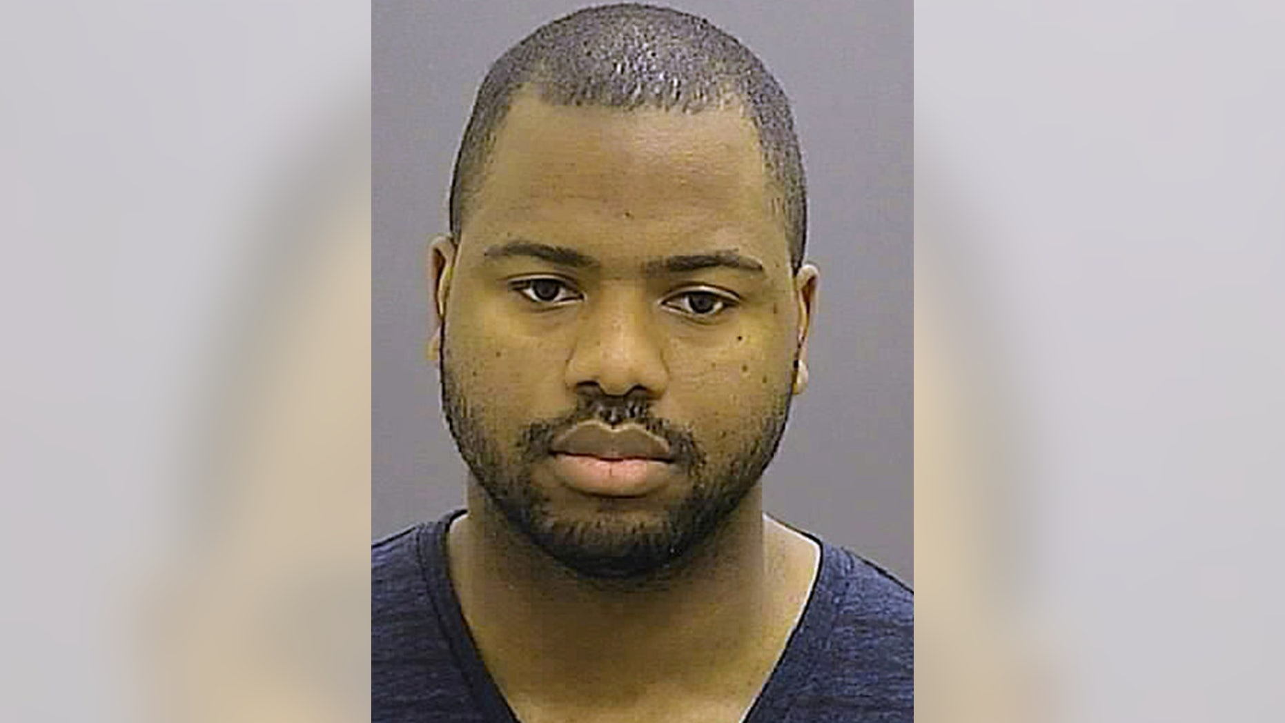 FILE - This Friday, May 1, 2015 file photo provided by the Baltimore Police Department shows William G. Porter, one of six Baltimore city police officers charged in connection to the death of Freddie Gray. (Baltimore Police Department via AP, File)