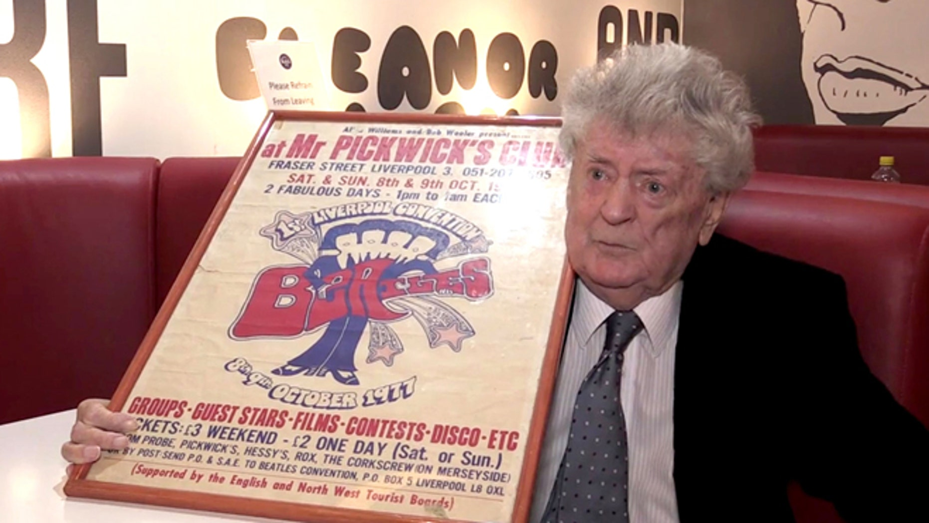 Allan Williams, who worked with the Beatles early in their careers, dies at 86.