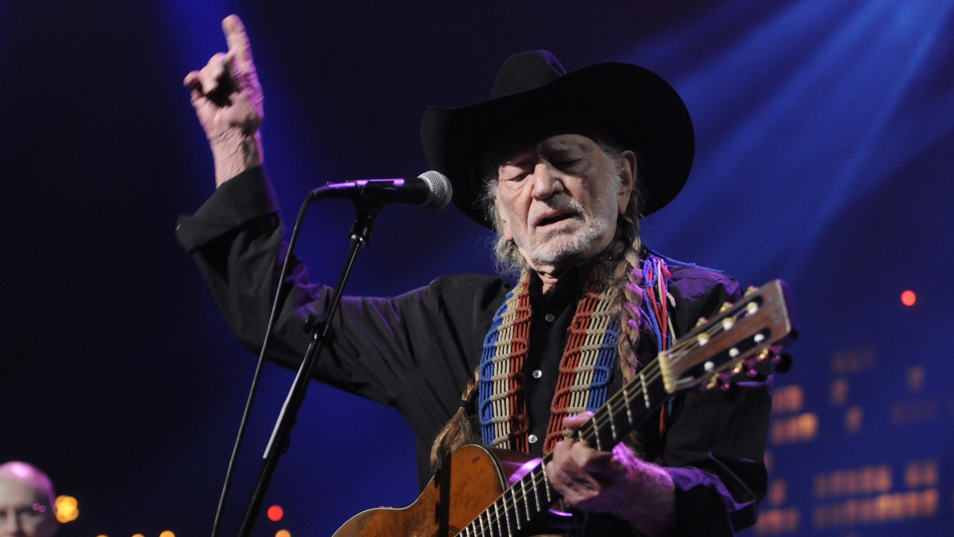 April 26, 2014. Willie Nelson performs during the Austin City Limits Hall of Fame show.