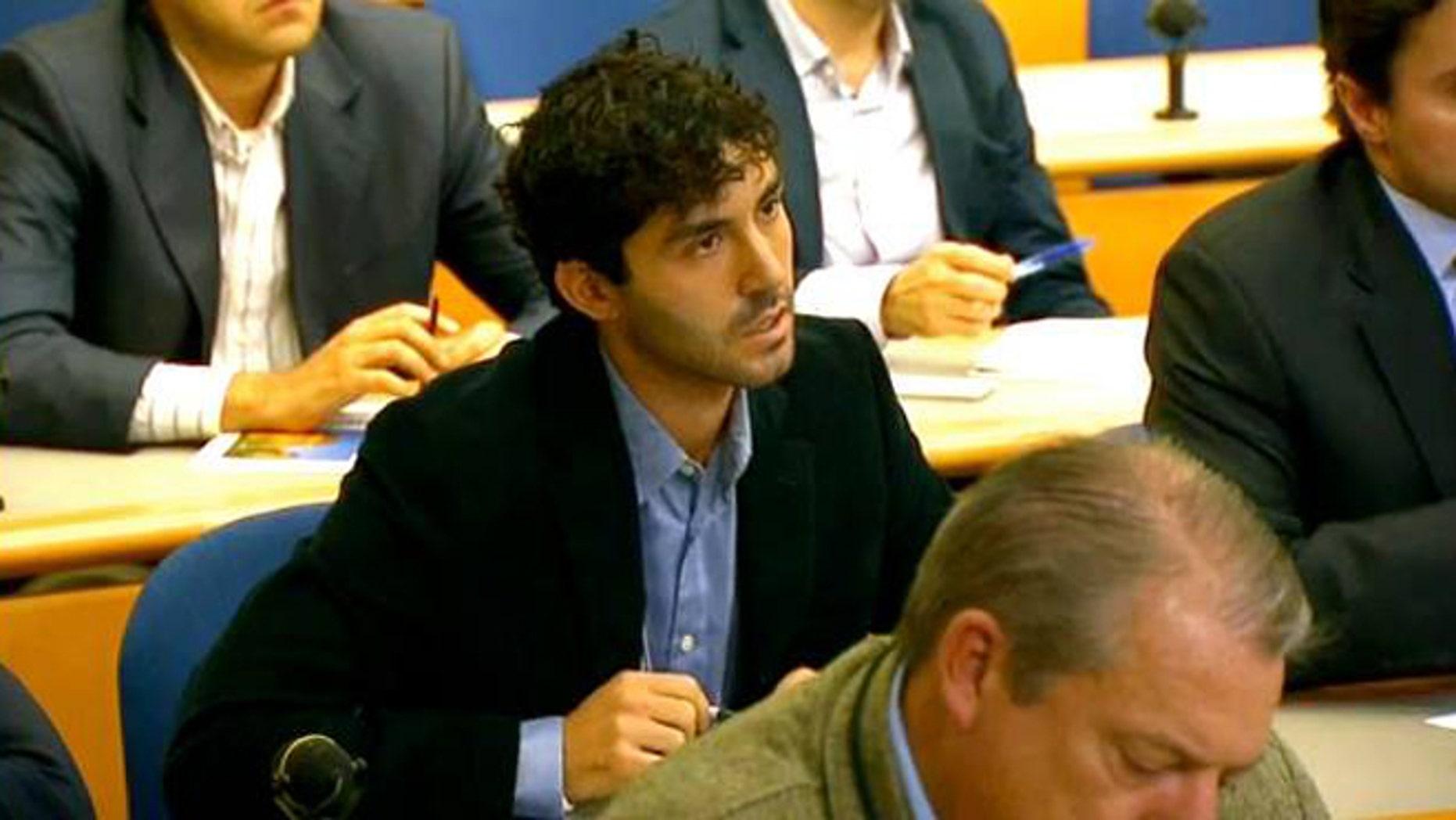 Shown here is Jerusalem Post D.C. bureau chief Michael Wilner.