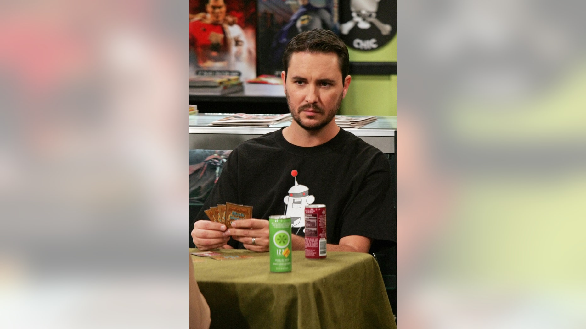 "Actor Wil Wheaton, pictured here guest starring on an episode of ""The Big Bang Theory,"" recently received backlash on Twitter over comments he made to house speaker Paul Ryan."