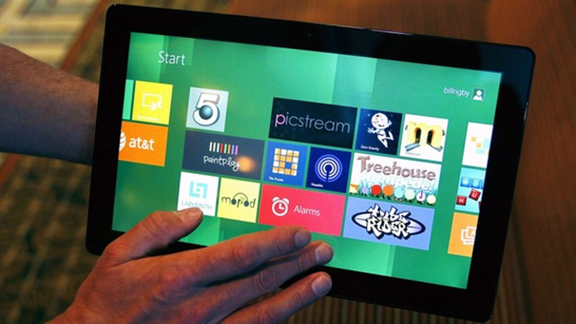 Windows 8 will launch with an app marketplace, Microsoft revealed.
