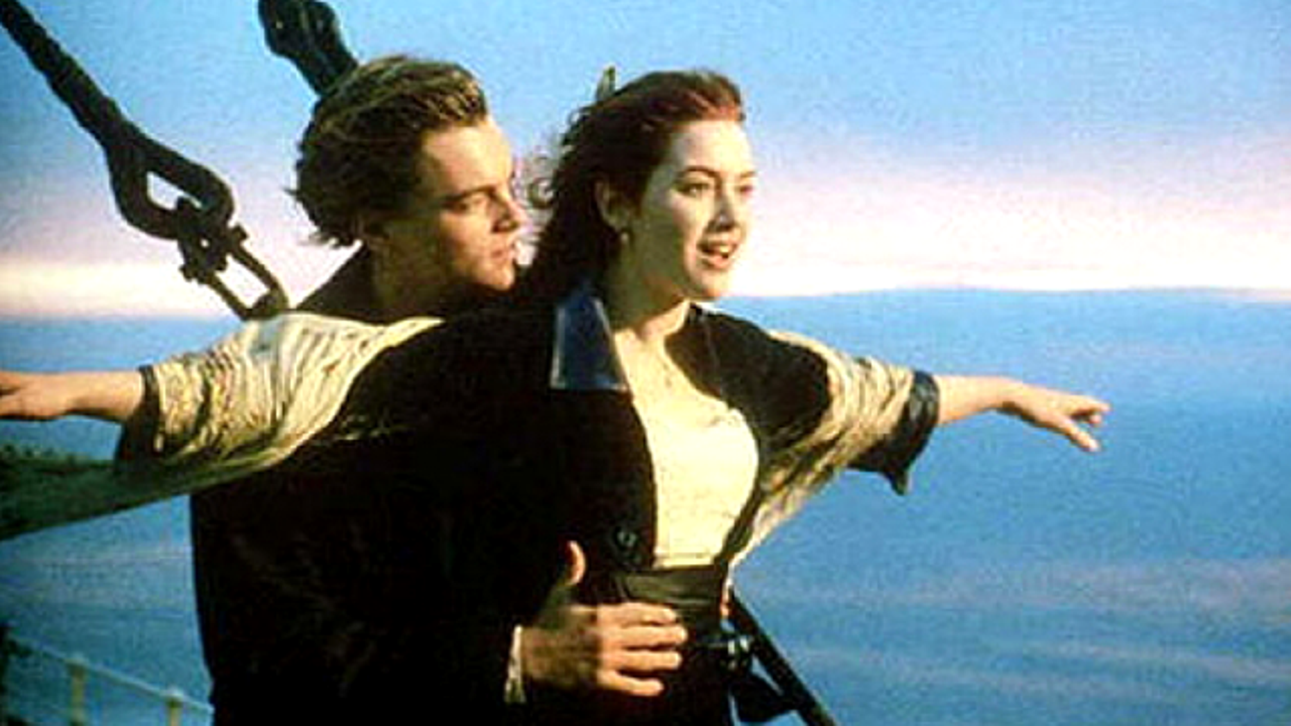 Kate Winslet and Leo DiCaprio in 'Titanic.' (AP)