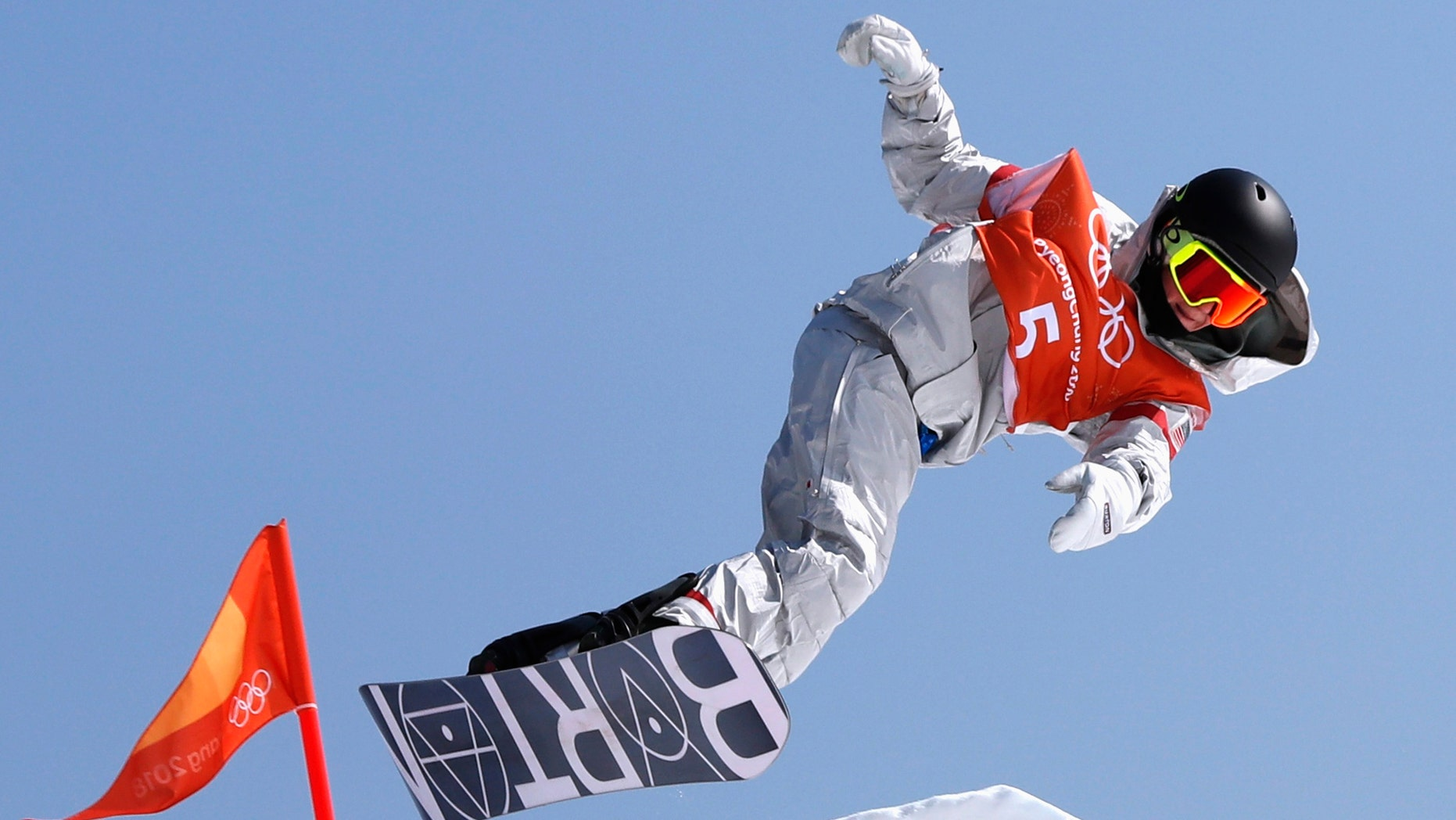 File photo - Snowboarding - Pyeongchang 2018 Winter Olympics February 8, 2018 - An unidentified athlete trains. (REUTERS/Issei Kato)