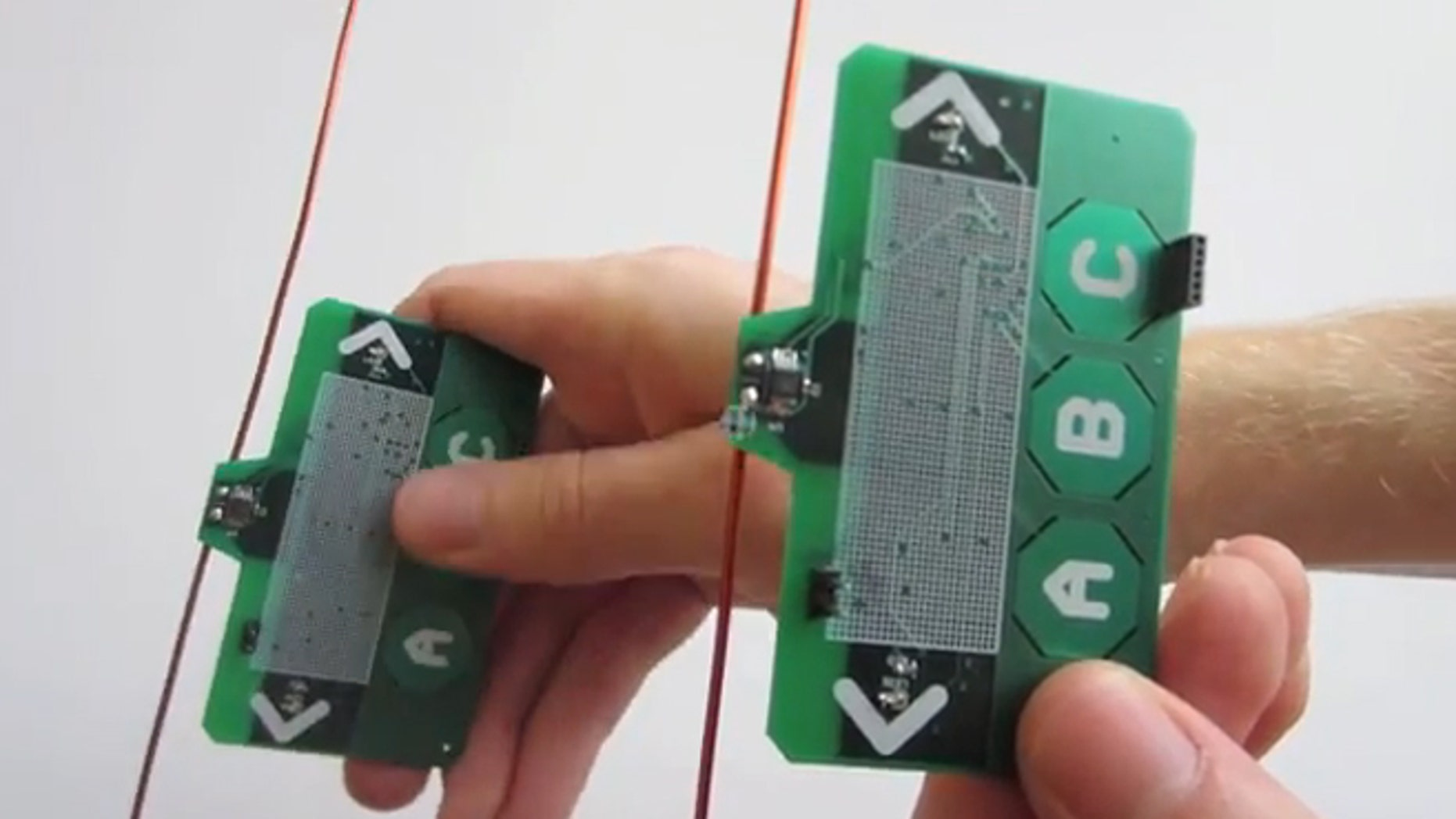 This device turns wireless signals into both a source of power and a communication medium.