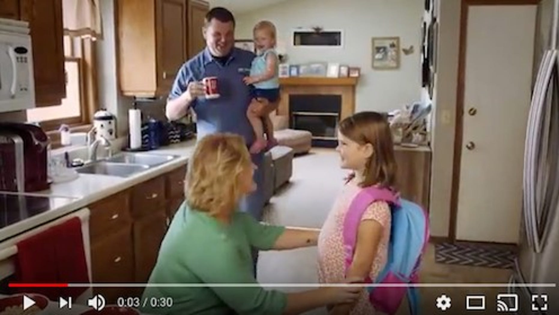 Jim and Lindsay Pratt of Jefferson, Wisconsin, are featured in the TV ad spotlighting the tax code.