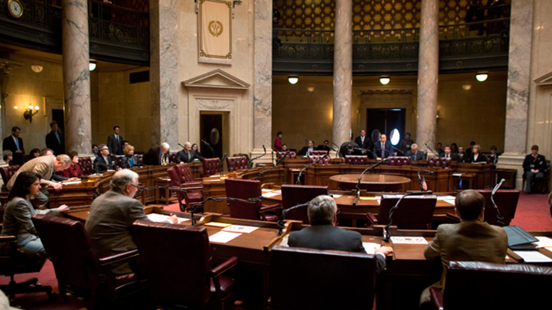Nine Wisconsin state senators are facing recalls by voters angered over the winter's budget debate.