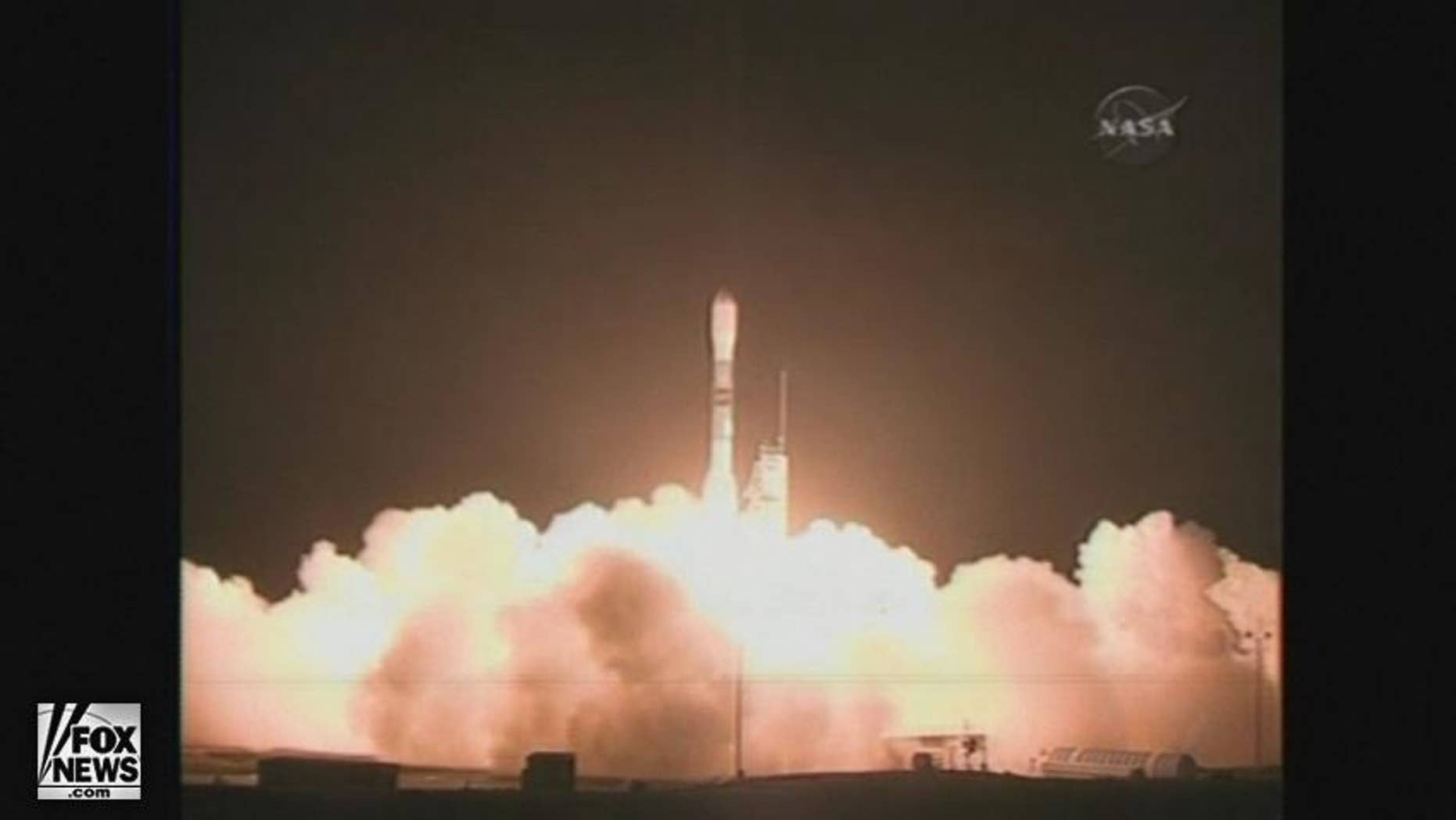 At Vandenberg Air Force Base in California, a Delta-2 rocket carrying NASA's newest telescope launched smoothly into space.
