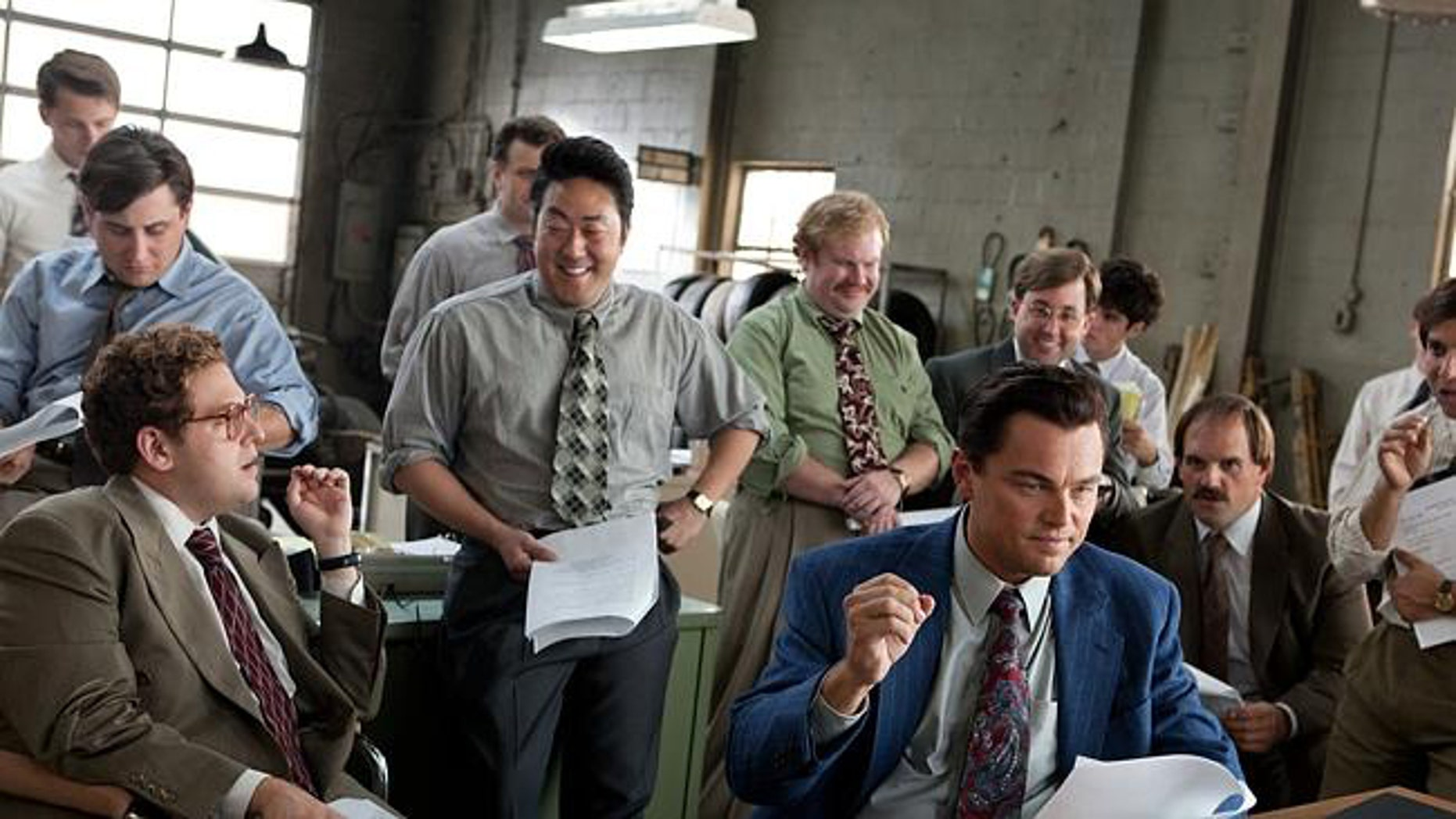 "Jonah Hill and Leonardo DiCaprio in ""The Wolf of Wall Street"" -- the first major film to get a digital only release."