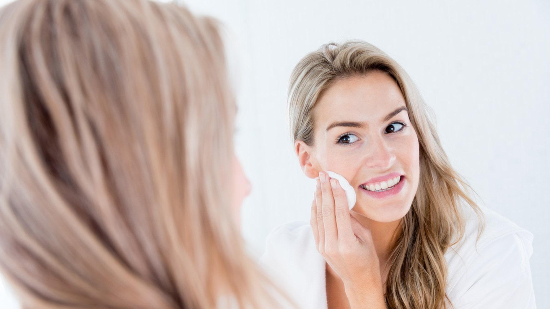 Facial age spot removal
