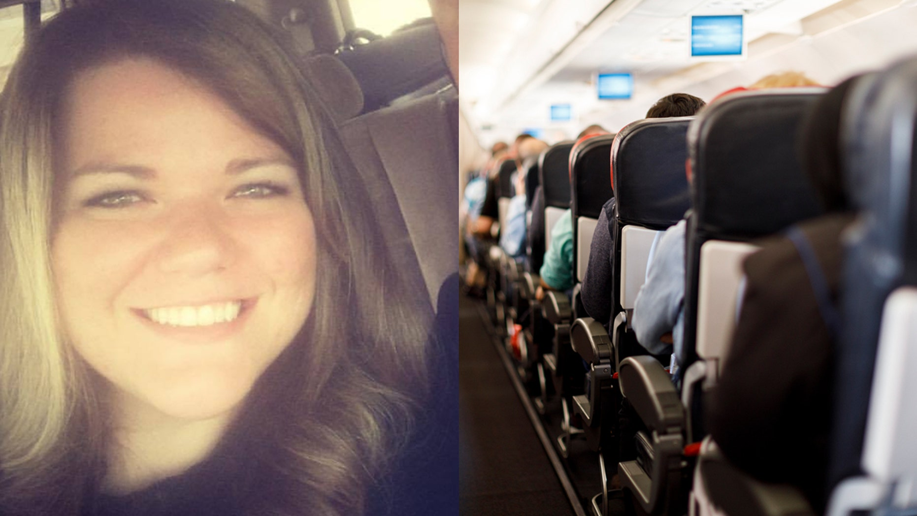 """An Oklahoma woman said a fellow passenger on her flight stepped in to defend her after someone called her a """"smelly fatty."""""""