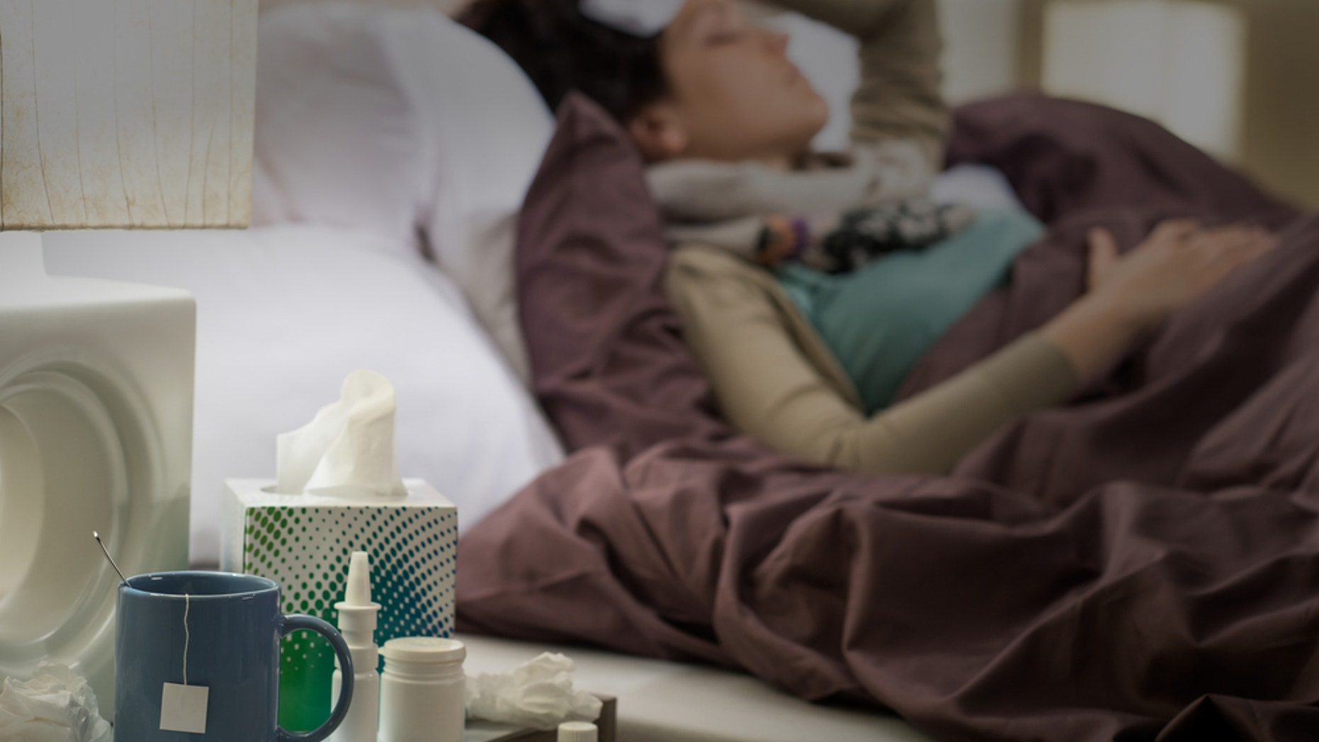 Spouses can be unsung heroes when you're sick. (CTK via AP Images)