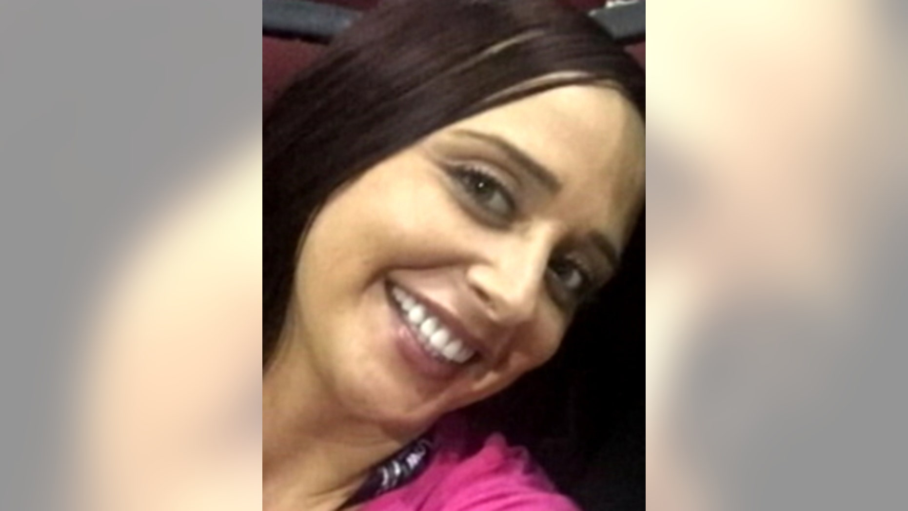 This undated photo shows 33-year-old Samantha Broberg, missing from a Carnival cruise ship since early Friday.