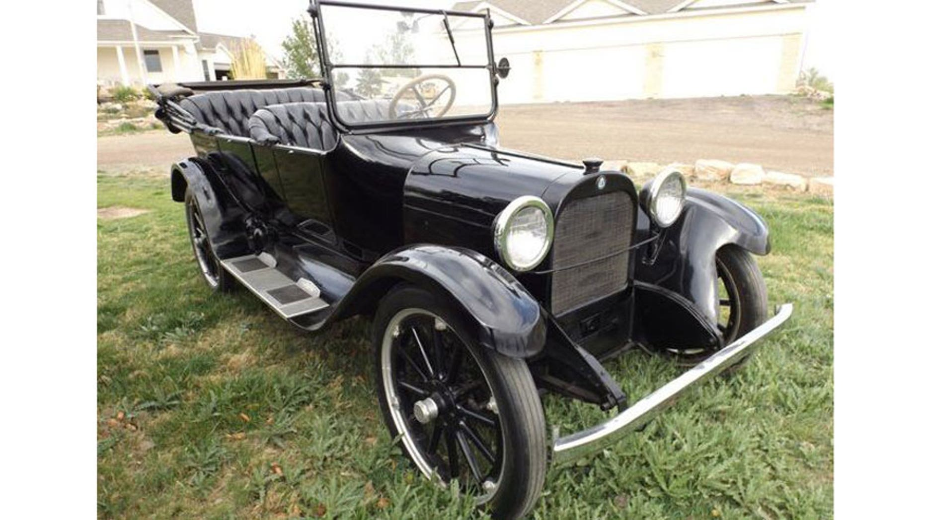 """George Bailey's 1919 Dodge in """"It's A Wonderful Life."""""""