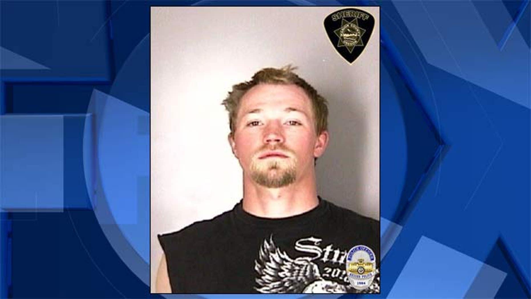 Scott Edward Iverson, jail booking photo