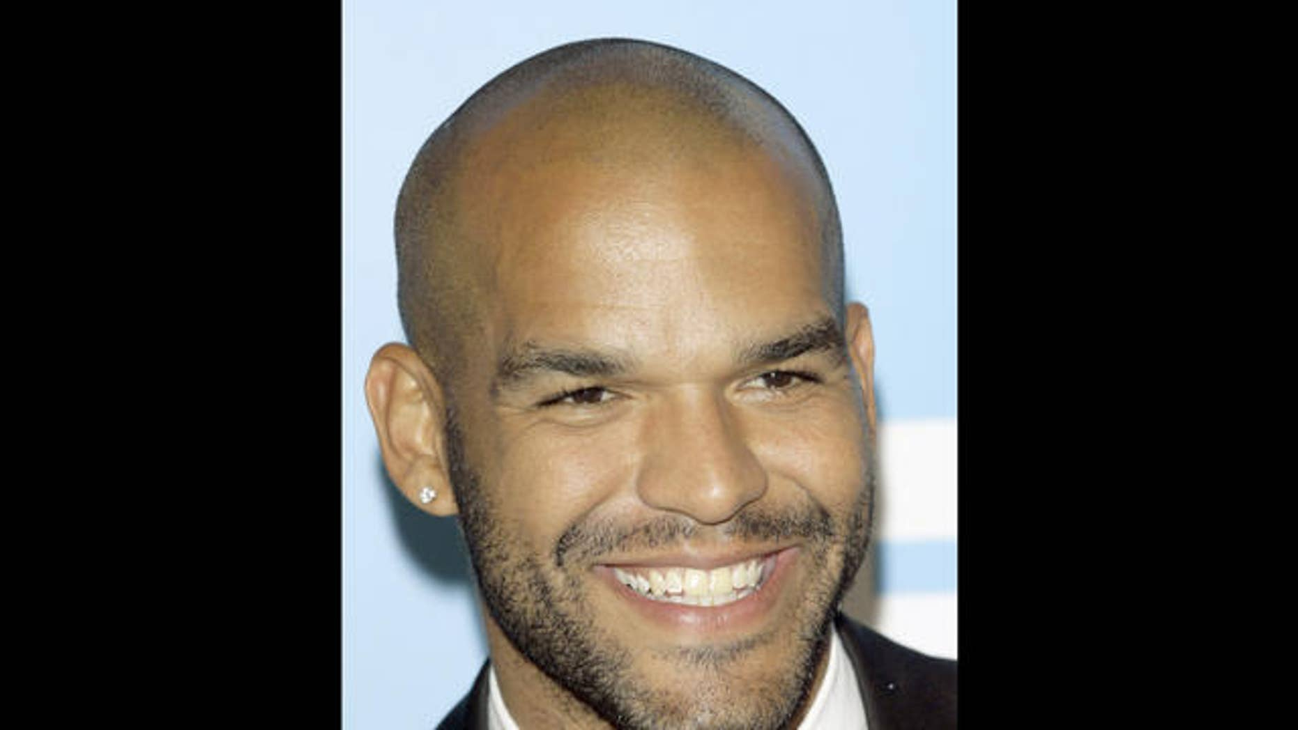"""Amaury Nolasco from the returning television series,""""Prison Break"""" arrives to the Fox 2007 programming presentation in New York, Thursday, May, 17, 2007. ( AP Photo/Stuart Ramson)"""
