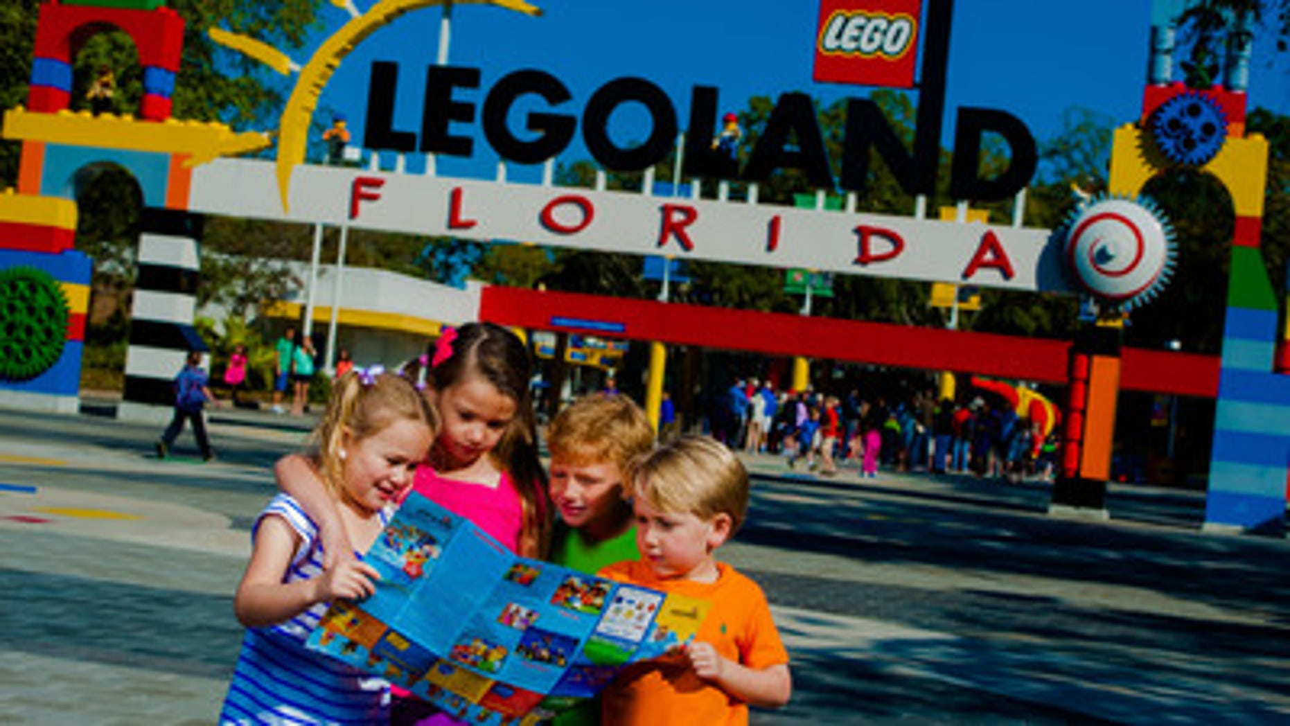 Checking out the scene at LEGOLAND.