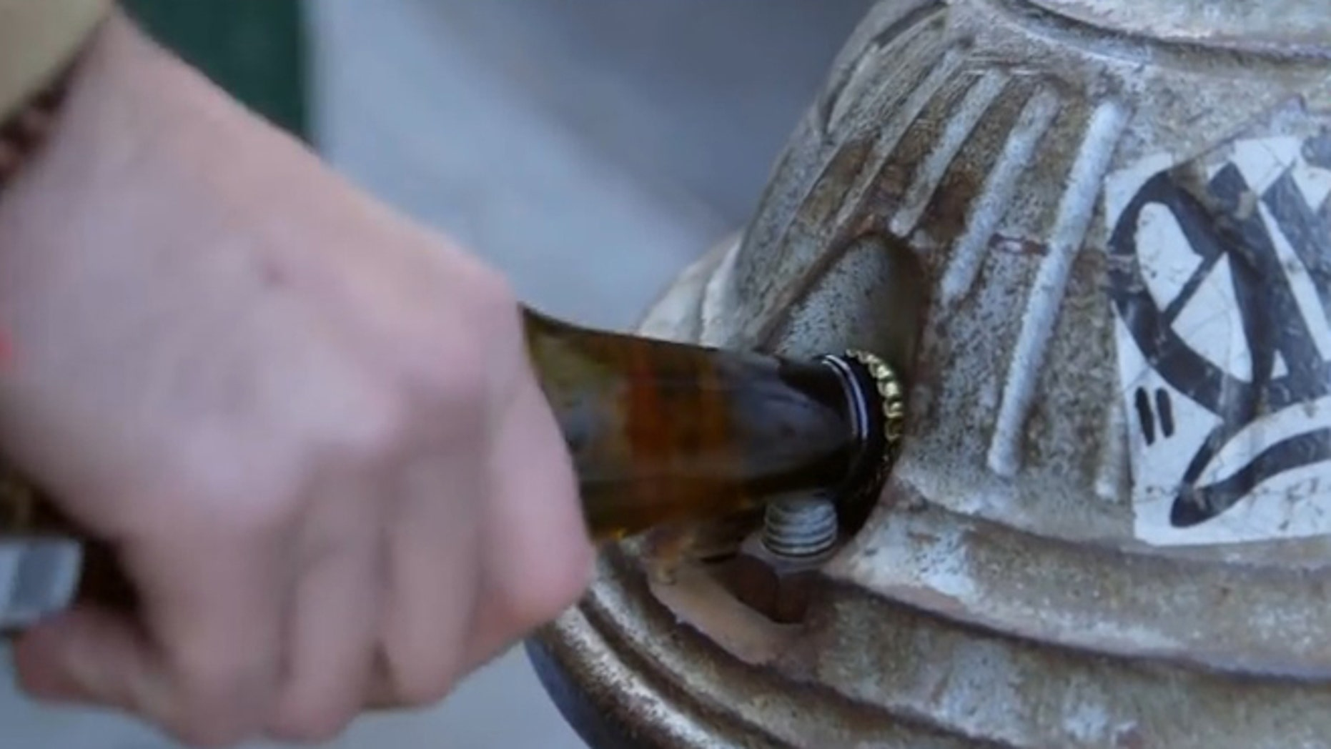 Inside or outside, never suffer from lack of a bottle opener again.