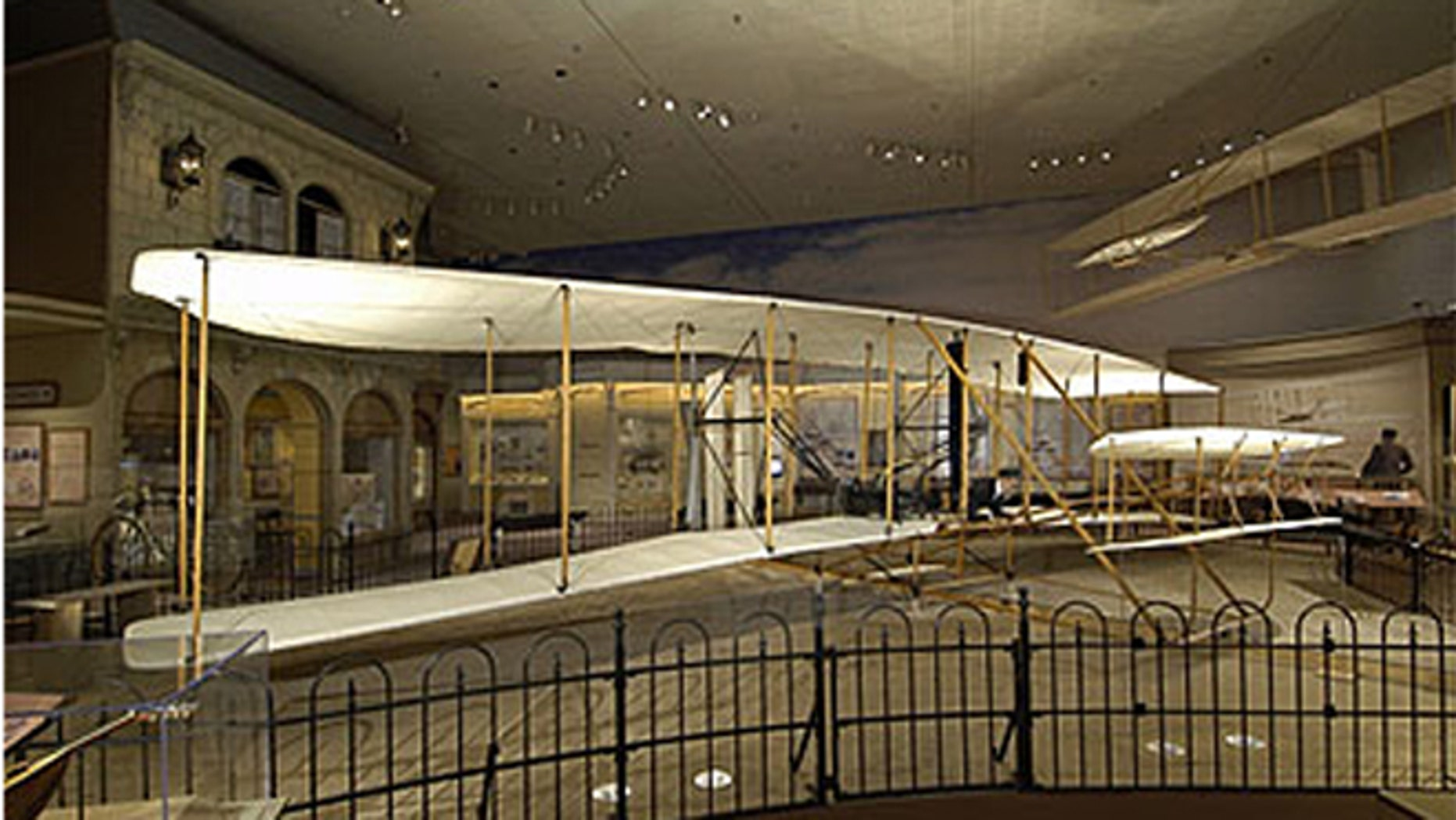 1903 Wright Flyer. (Smithsonian Museum)