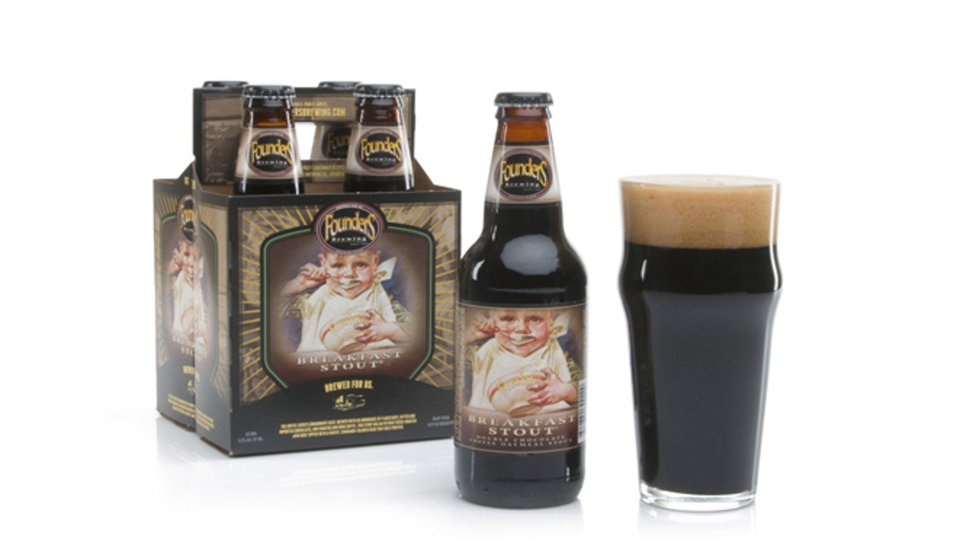 This creamy, sweet stout features a picture of a baby on the packaging.