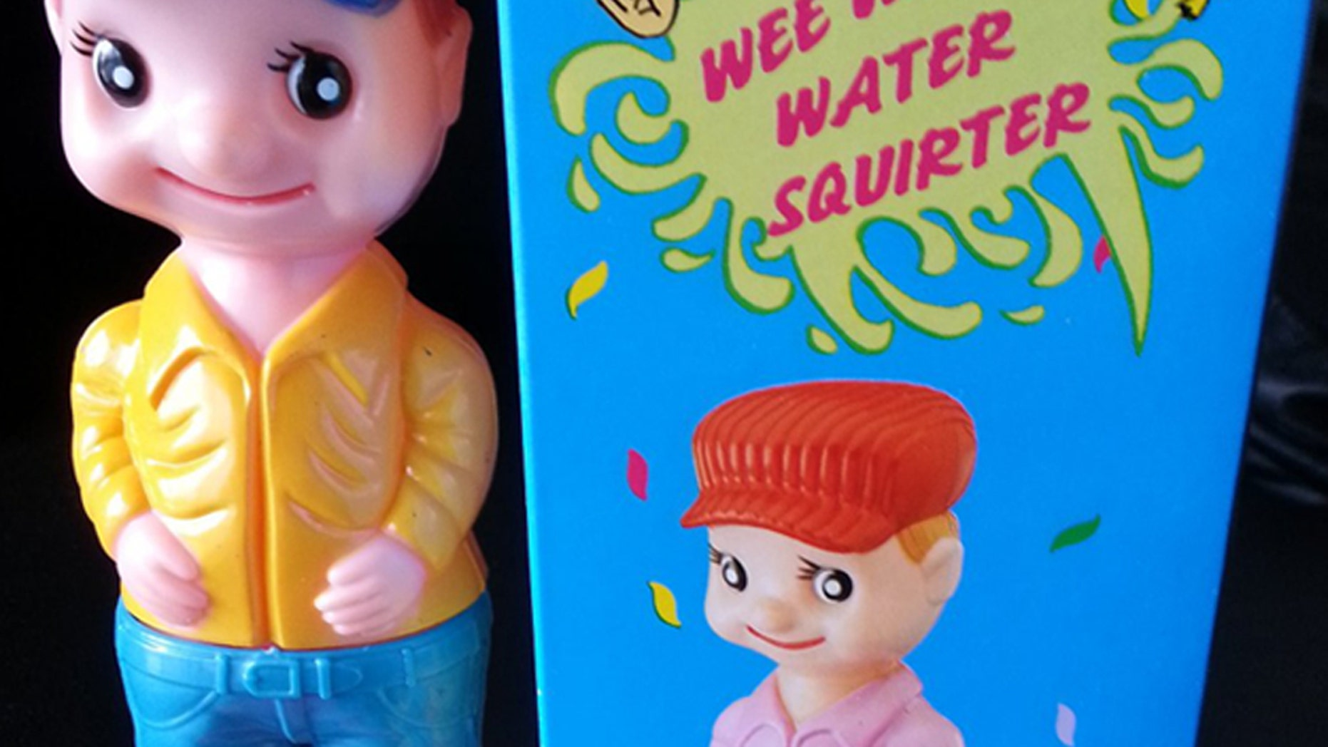 Is this innocent-looking Wee Pee squirting toy a sexual predator?