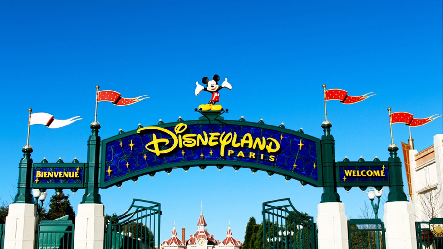 Disneyland Paris was unaffected following the discovery Wednesday of a suspicious package at a nearby train station, the company said.