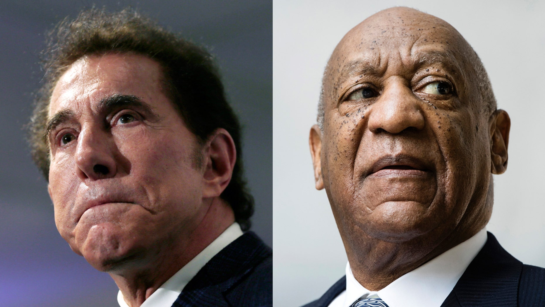 Steve Wynn, left, and Bill Cosby, right, get honorary degrees from the University of Pennsylvania rescinded following sexual abuse scandals.