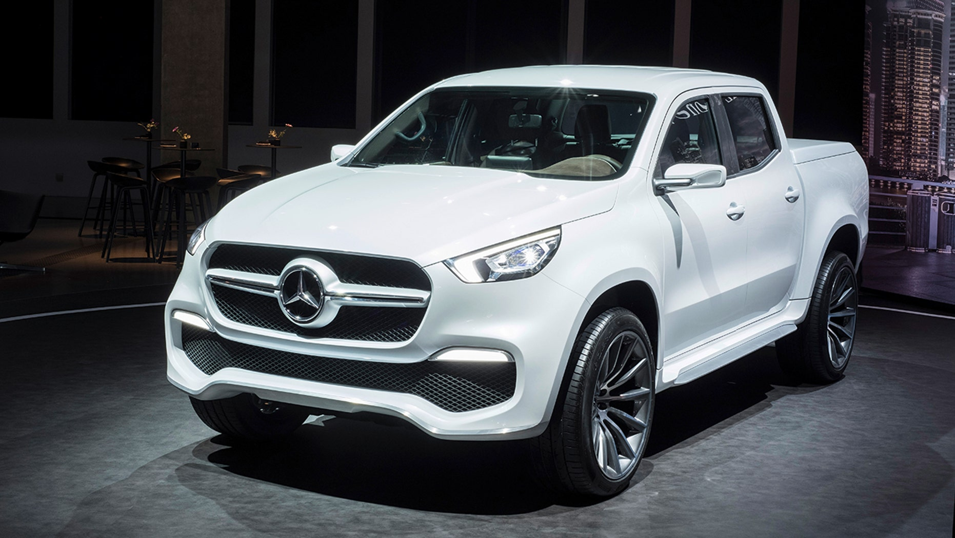 mercedes pickup truck ready to roll, but not in u.s. | fox news