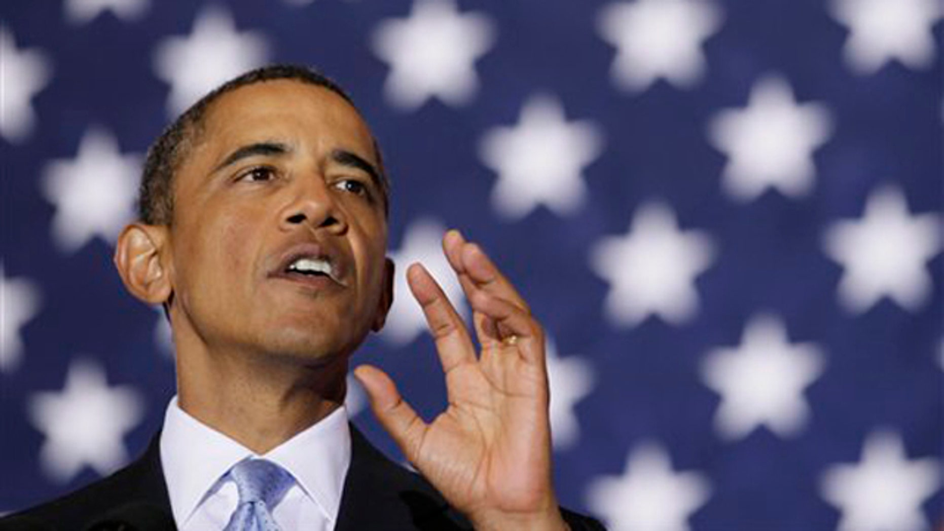 President Obama speaks at Xavier University of Louisiana in New Orleans Aug. 29 on the fifth anniversary of Hurricane Katrina. (AP Photo)