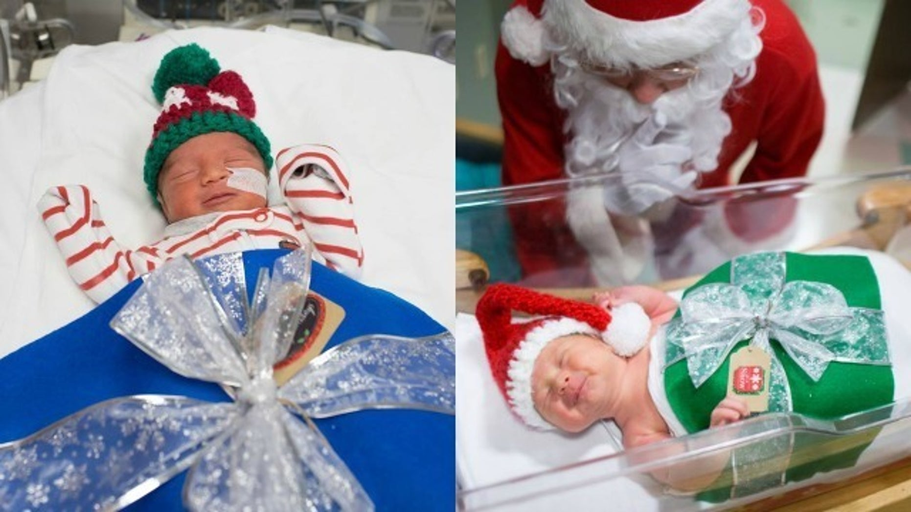 Missouri hospital dresses up preemies