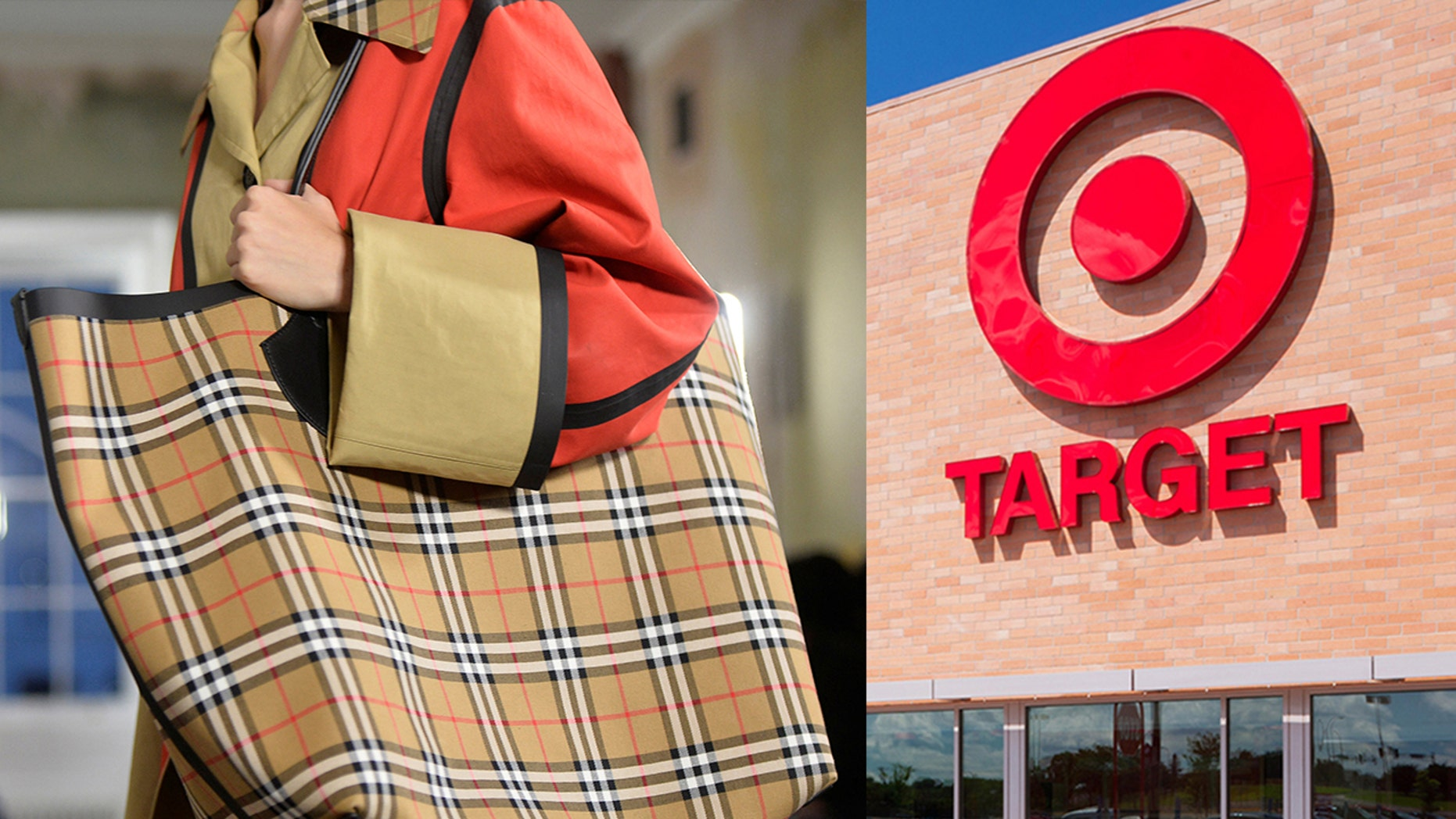 The British fashion house seeks an injunction barring Target from selling any infringing products and monetary damages of up to $2 million.