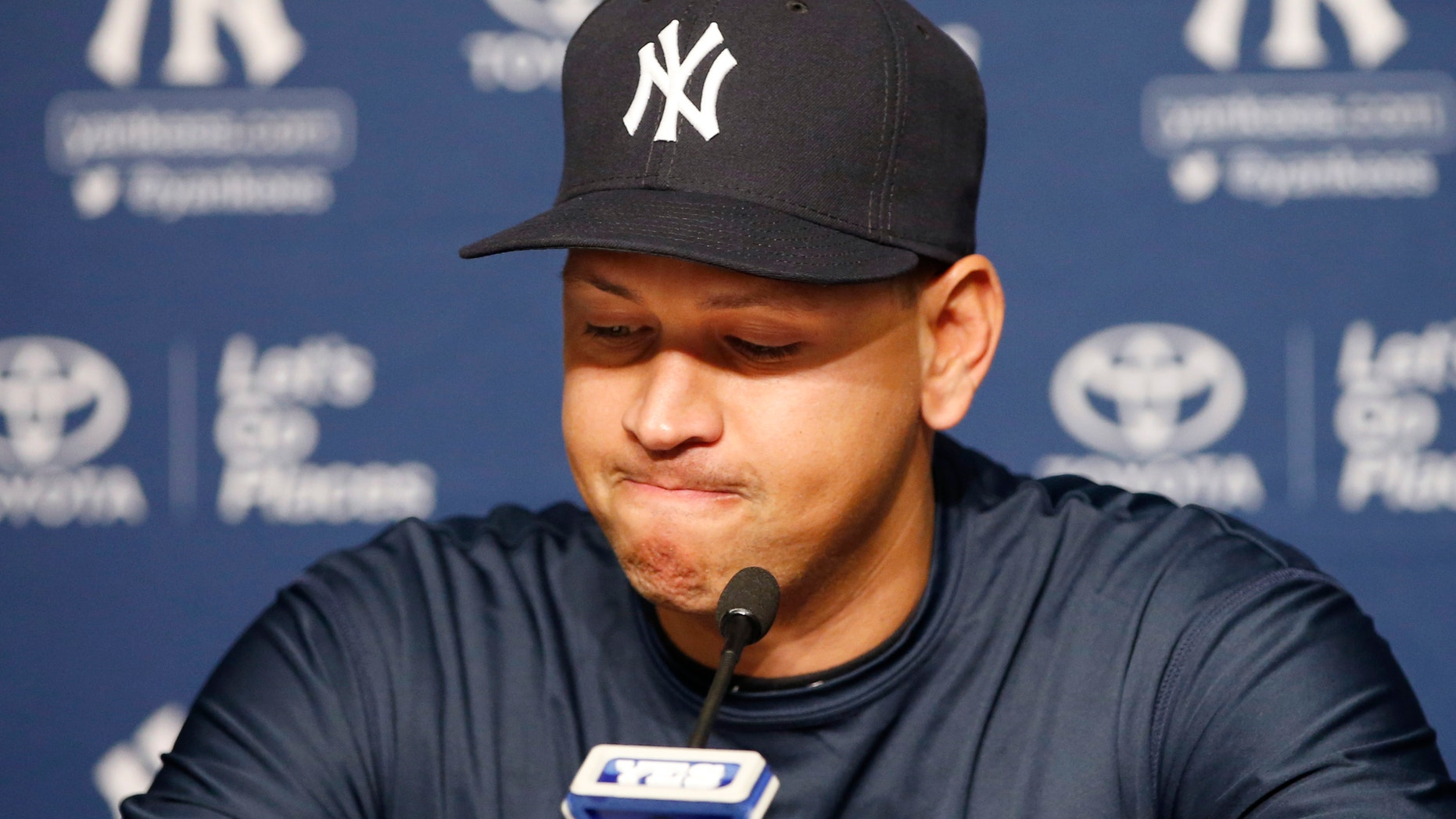 Yankees designated hitter Alex Rodriguez on Sunday announces his impending retirement.
