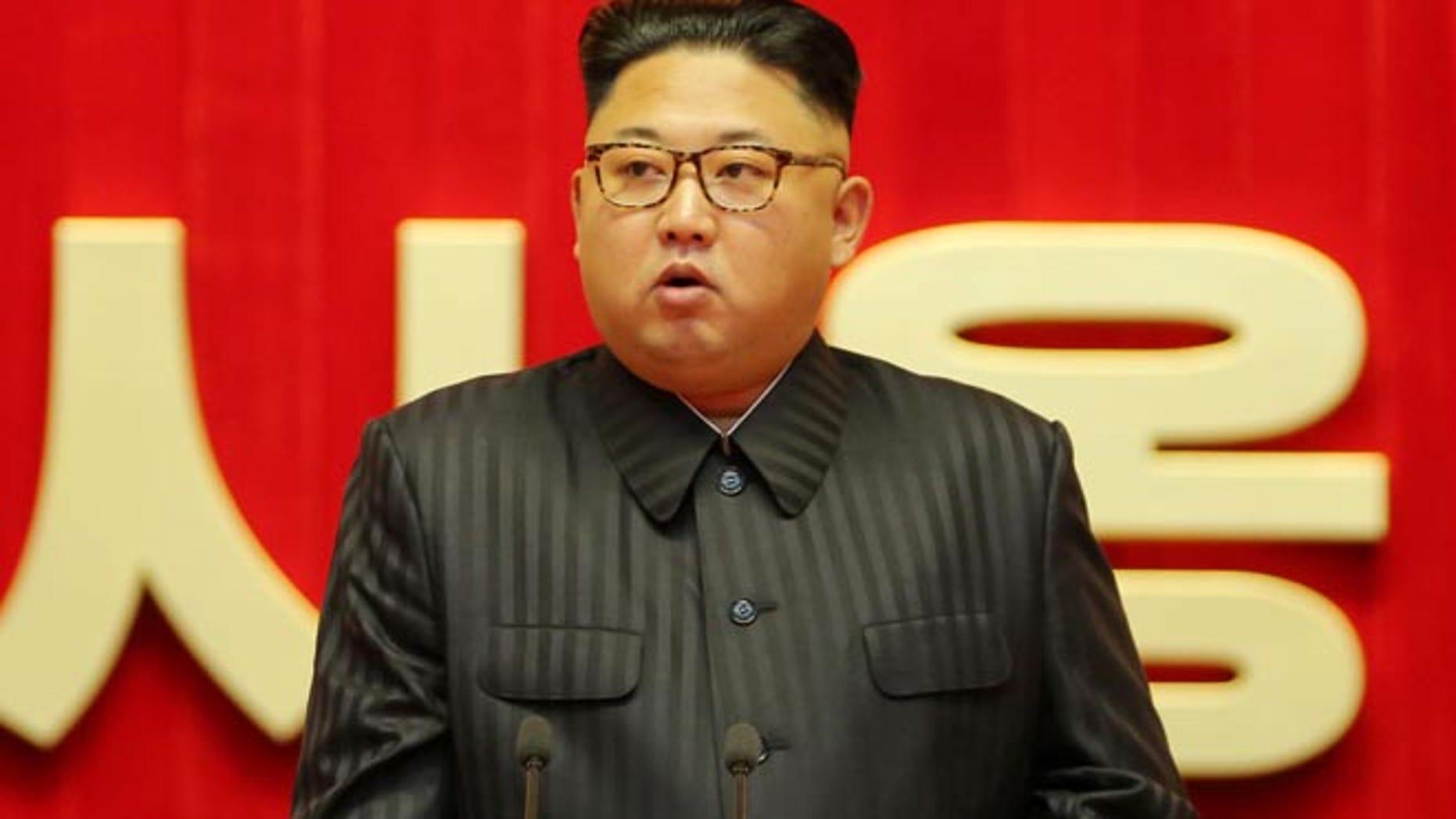 North Korean leader Kim Jong-un in August. (Reuters)