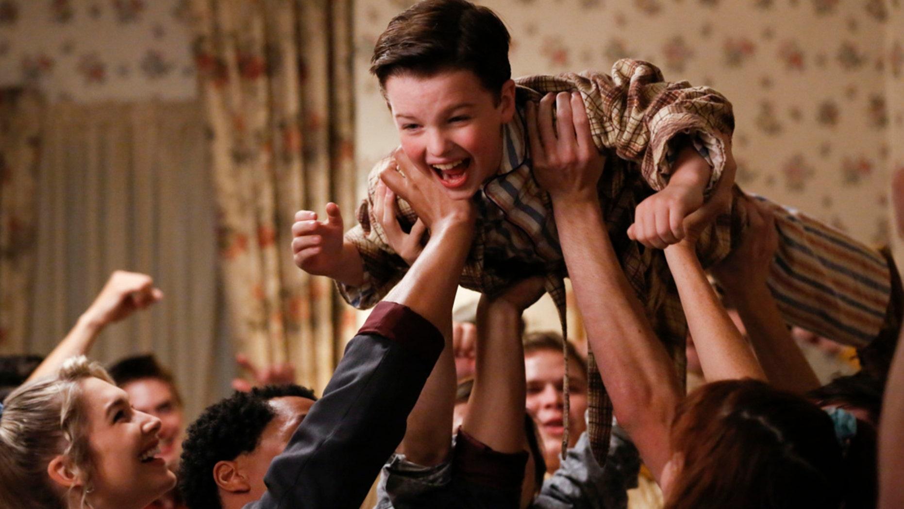 "CBS has renewed ""Young Sheldon"" for a second season. Ian Armitage stars on the show."