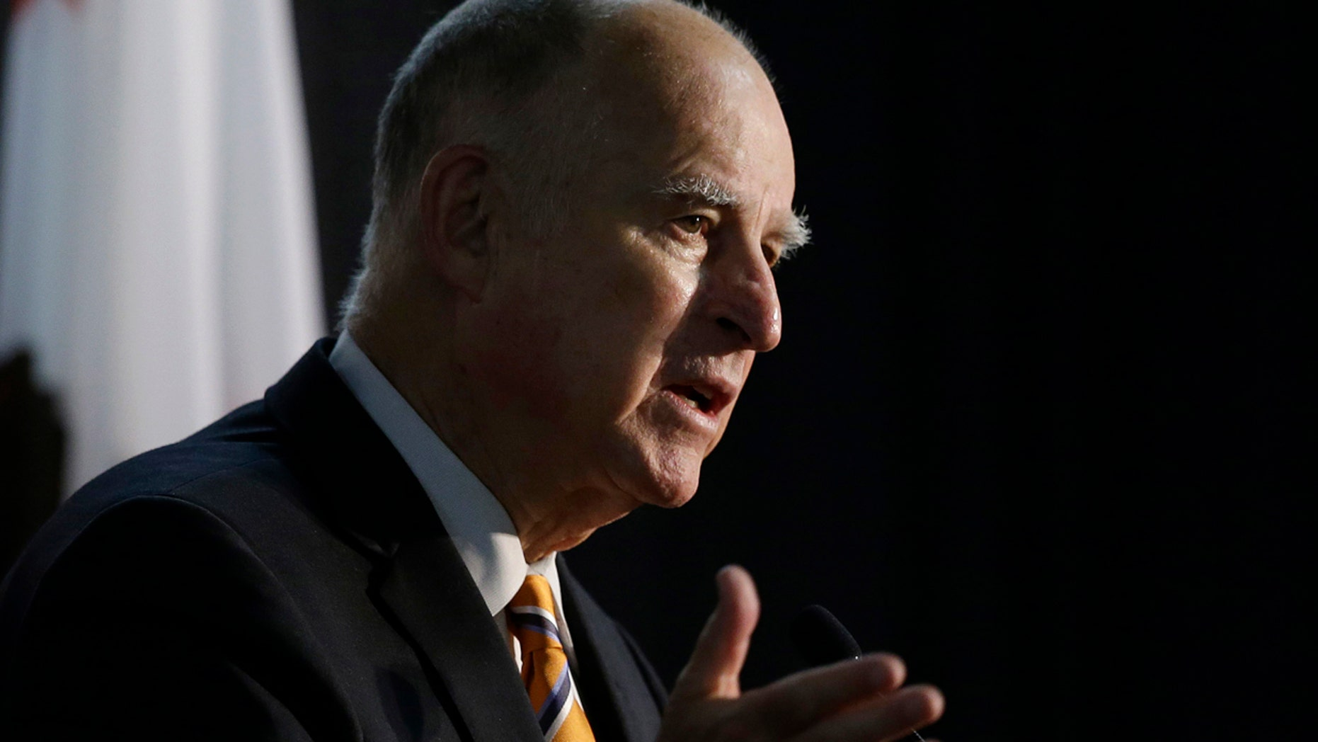 FILE 2018: California Gov. Jerry Brown will reportedly consider three bills intended to add restrictions on gun ownership in his state.